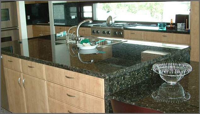 Verde Granite Kitchen Verde Butterfly Granite