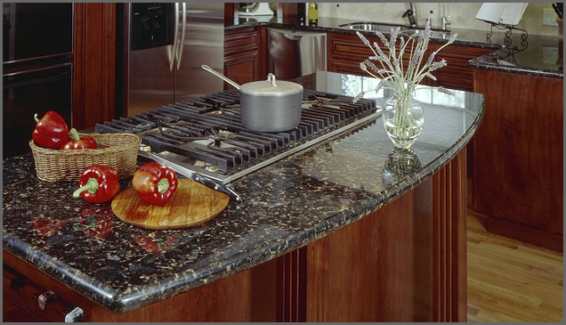verde butterfly kitchen island Verde Butterfly Granite