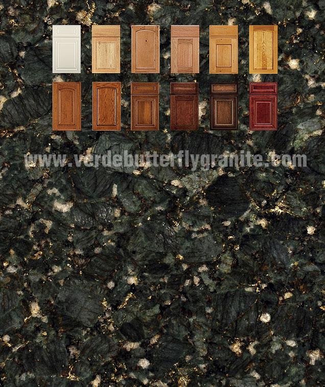 Verde Butterfly Vanity Verde Butterfly Granite
